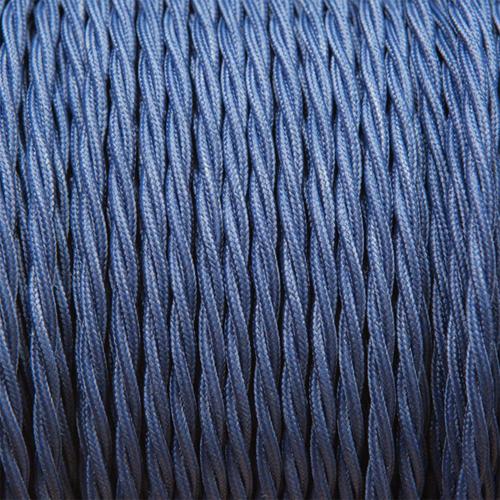 Navy-blue twist